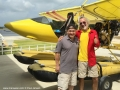 Flying seaplanes in Bintan - Chee Yong and John