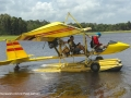 Flying seaplanes in Bintan - Paul Jansen launching