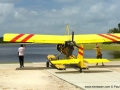 Flying seaplanes in Bintan - walking the Drifter seaplane