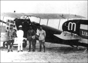Archive picture of Siamese military aircraft, a Breguet 14