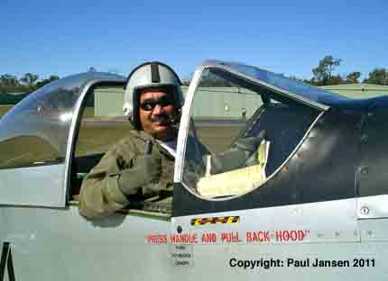Paul Jansen gives his verdict after a 30-minute heart-thumping aerobatic flight in a P-51D Mustang in Queensland, Australia.