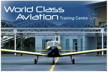 "Piper Warrior IIs were kept in good shape by the Singapore Youth Flying Club which prides itself on being a ""world class aviation training centre"" as this image on its website declares. Copyright: SYFC."