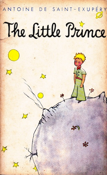 Cover of the book, The Little Prince, by Antoine de Saint Exupery.