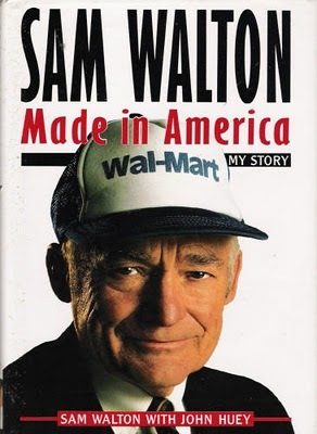 The late Sam Walton would fly to potential sites for new stores and check it out from the air, and drop by existing stores unannounced to find out how the staff were doing and check shopping trends in the area.