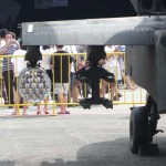 RSAF Open House 2011 - Unarmed missile pod