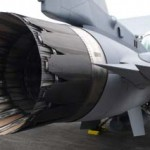 RSAF Open House 2011 - Tail-end of an F-16.