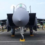 RSAF Open House 2011 - Business end of a F-15SG.