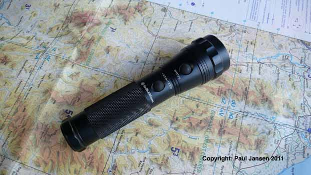 The Smith and Wesson Galaxy 13 flashlight