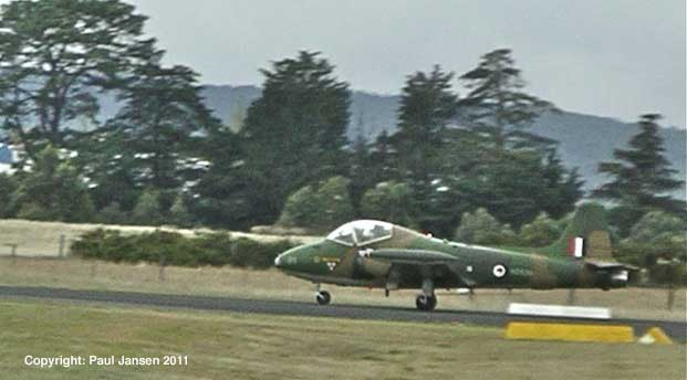 VH-ZEP begins its take-off at Ballarat in the Victorian state of Australia.