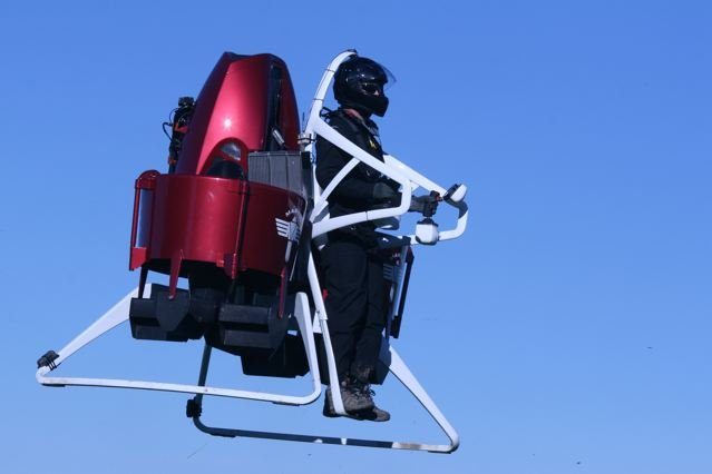 Jetpacks for Dubai firefighters
