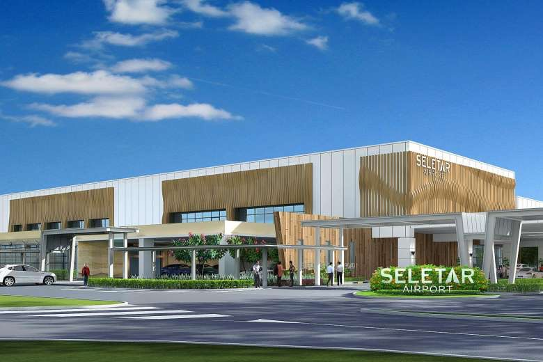 Seletar's new terminal will have more immigration counters, a bigger holding area, and an exclusive section for the more well-heeled visitors. Picture copyright Seletar Airport