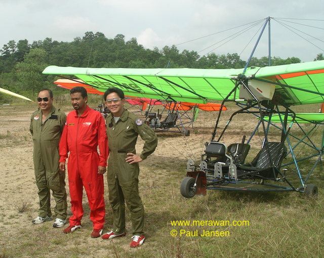 Wings ceremony at Nusajaya Flight Park