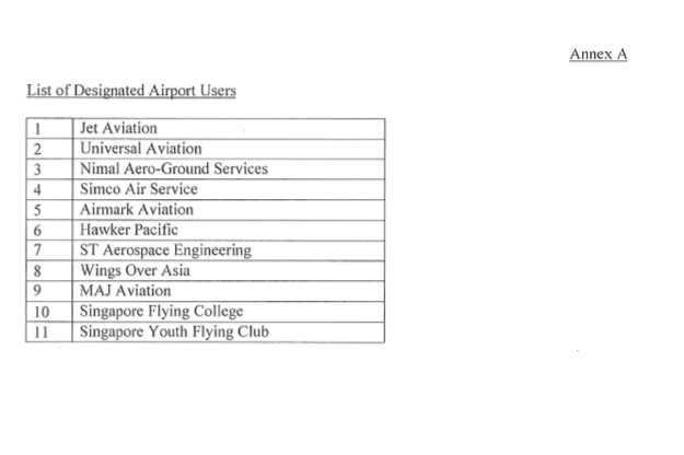 Seletar airport parking fees statement - Page 4
