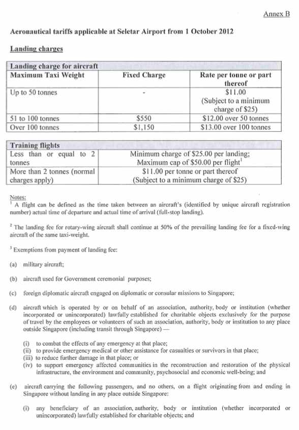 Seletar airport parking fees statement - Page 5