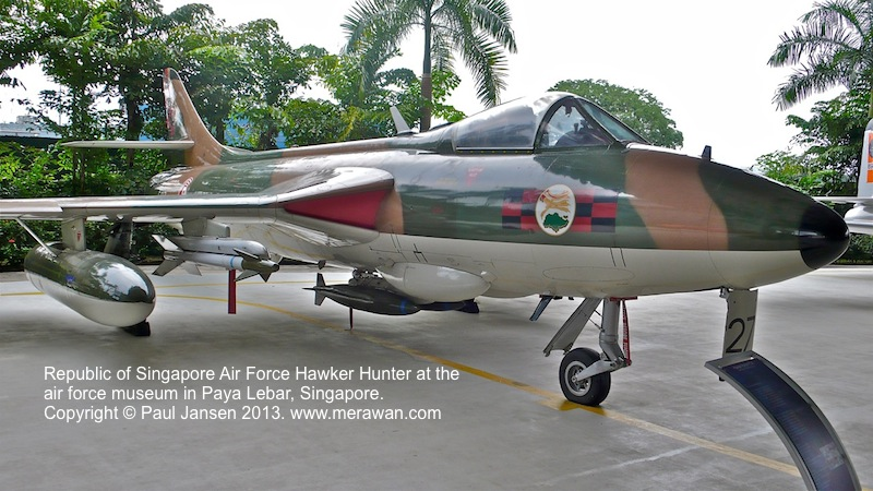 Hawker Hunter fighter jet